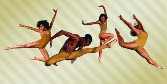 Urban Souls - Photo Credit: George GuillenDancers Candiss Richardson, Leonard Price, Felica Woodard, Stephanie Dunlop