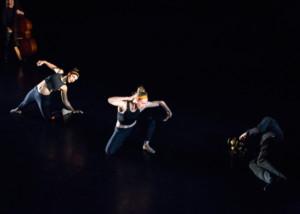 """Fear: a work in progress"" Choreography by Roberta Paixao Cortes. Photo by Lynn Lane. Light design by David Deveau."